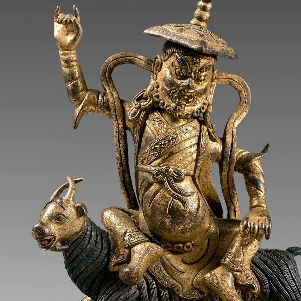 骑羊金刚善护法神像 - 2
